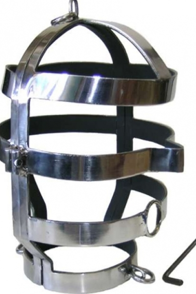 Mascara de acero bdsm